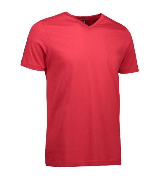 T-TIME Herren T-Shirt | V-Ausschnitt