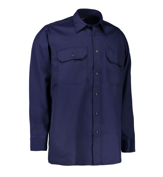 Arbeits-Hemd   Pol./Baumwolle